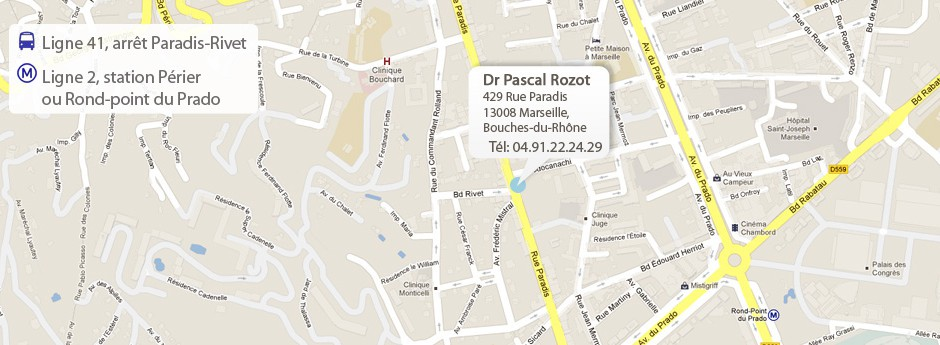 Votre centre ophtalmologique à Marseille.