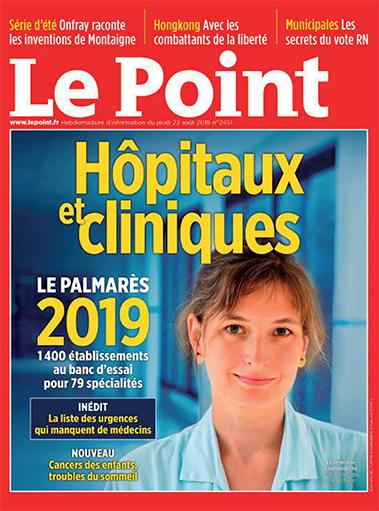 Palmarès 2019 – Hôpitaux & Cliniques